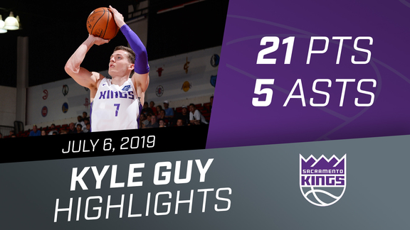 Kyle Guy (21 pts, 5 asts) vs China 7.6.19