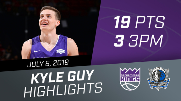 Kyle Guy (19 pts, 3 3PM) vs Mavs 7.8.19