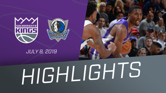 Kings vs Mavs Highlights 7.8.19