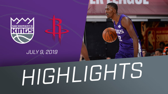 Kings vs Rockets Highlights 7.9.19