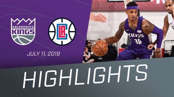 Kings vs Clippers Highlights 7.11.19