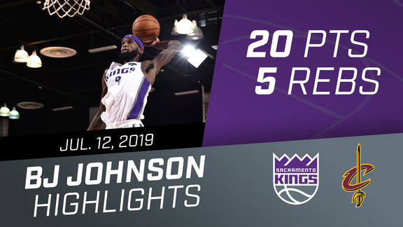BJ Johnson (20 pts, 5 rebs) Highlights vs Cavaliers 7.12.19
