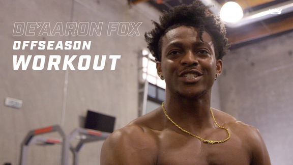 De'Aaron Fox | Offseason Workout