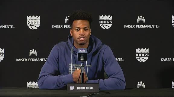 Buddy Hield Hurricane Relief Press Conference 9.5.19