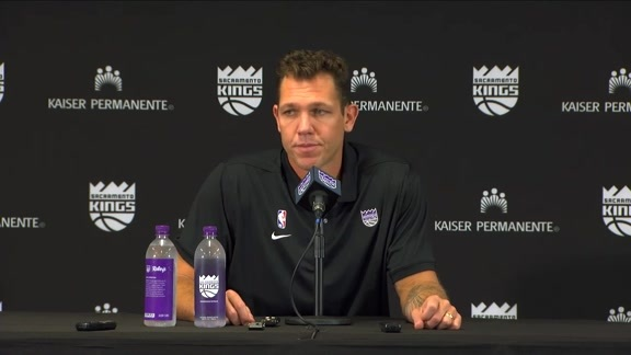 Luke Walton Ready to Get Started | Kings Media Day 2019