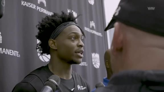 De'Aaron Fox | Training Camp Day 1
