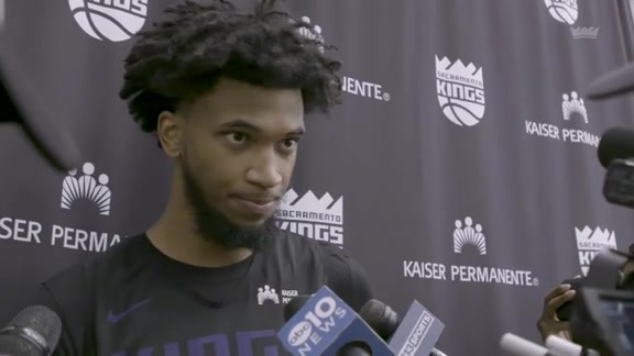 Marvin Bagley III | Training Camp Day 1