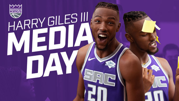 H-Gizzle Takes Over Kings Media Day