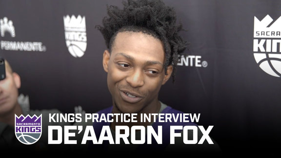 De'Aaron Fox | Sacramento Kings Practice 10.8.19
