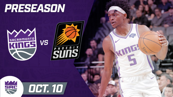 Kings vs Suns Preseason Highlights 10.10.19
