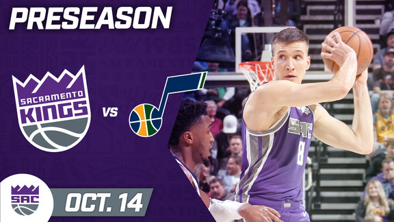 Kings Beat Jazz in Preseason Clash! | REAL Highlights vs Jazz