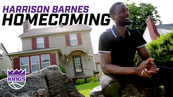 Harrison Barnes Travels Back to Ames, Iowa | Homecoming