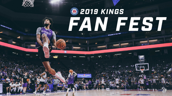 2019 Kings Fan Fest | Basketball is BACK!