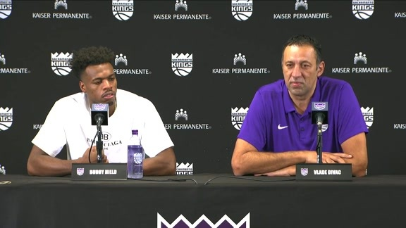 Buddy Hield Contract Extension Press Conference