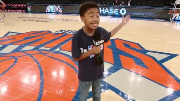 Behind the Scenes at MSG with Miles Brown & the Junior Knicks
