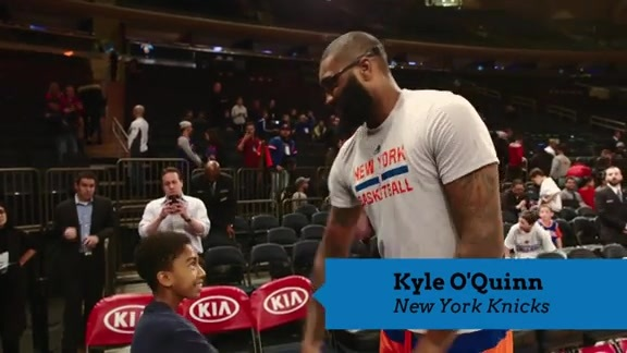Behind the Scenes of MSG with Miles Brown & the Junior Knicks