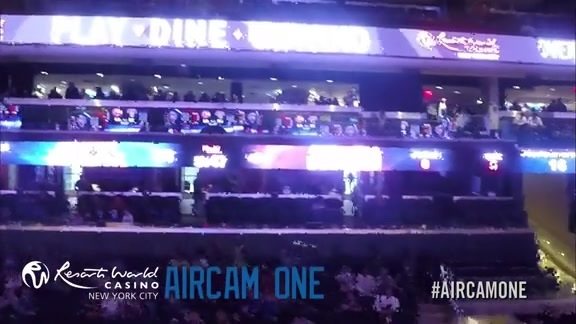 AirCamOne presented by Resorts World Casino: Feb 4 vs. Hawks