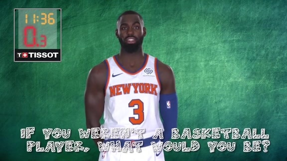 Junior Knicks Tissot 24 Second Challenge: If you weren't a basketball player, what would you be?