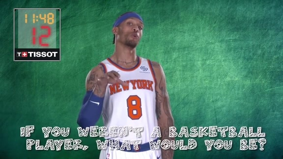 Junior Knicks Tissot :24 Second Challenge: If you weren't a basketball player, what would you be?