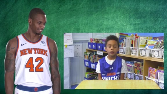 Junior Knicks Tissot :24 Second Challenge: Have you ever told a lie?