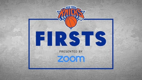 Knicks x Zoom: First Time Seeing Your Jersey