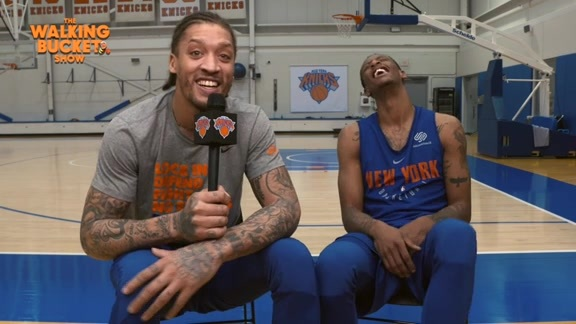 Knicks Exclusives: The Walking Bucket Show Featuring Troy Williams