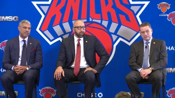 Knicks Head Coach David Fizdale Inaugural Press Conference, May 8