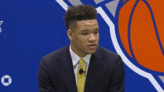 New York Knicks Introduce 2018 NBA Draft Picks
