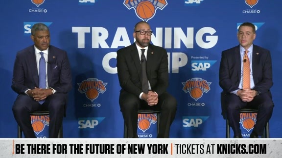 Knicks Press Conference