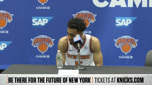 Media Day: Tim Hardaway Jr, Courtney Lee