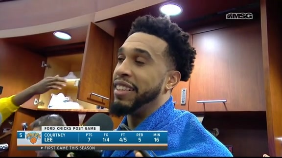 Knicks Postgame: Courtney Lee | Dec 3 vs. Wizards