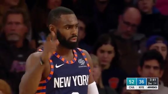 Knicks Highlights: Mudiay finds Hardaway Jr. for the and-one