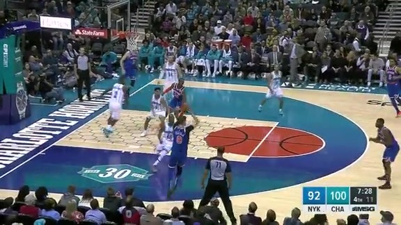 Knicks Highlights: Emmanuel Mudiay scores career-high 34 points vs. Hornets