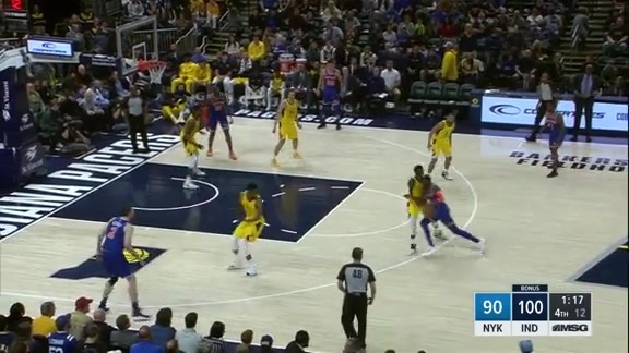Knicks Highlights: Tim Hardaway Jr. scores 19 points vs. Pacers