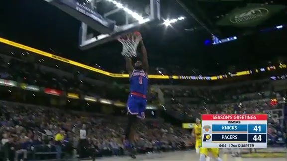 Knicks Highlights: Emmanuel Mudiay scores 18 points vs. Pacers
