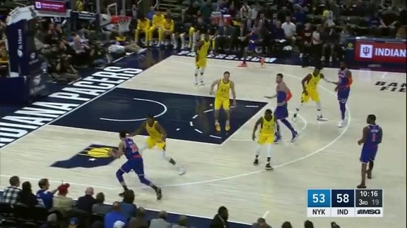 Knicks Highlights: Kevin Knox scores 15 points vs. Pacers