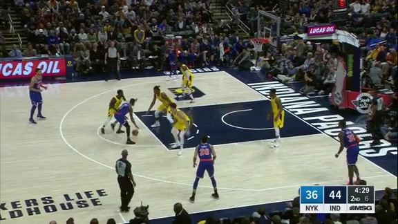 Game Highlights: New York Knicks @ Indiana Pacers