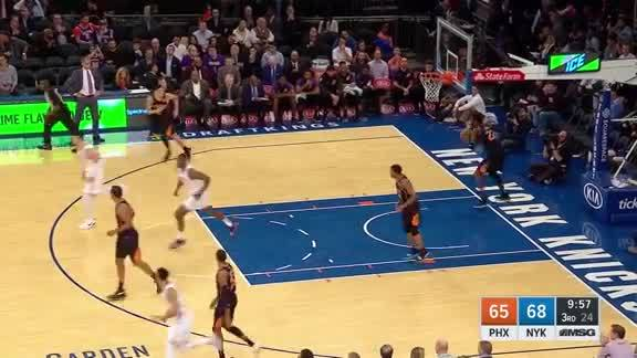 Knicks Highlights: Lee hits the corner three