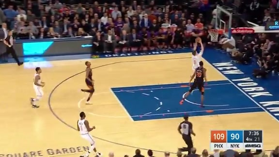 Knicks Highlights: Hezonja throws it down in transition