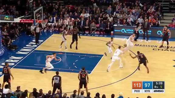 Knicks Highlights: Hezonja finishes through contact