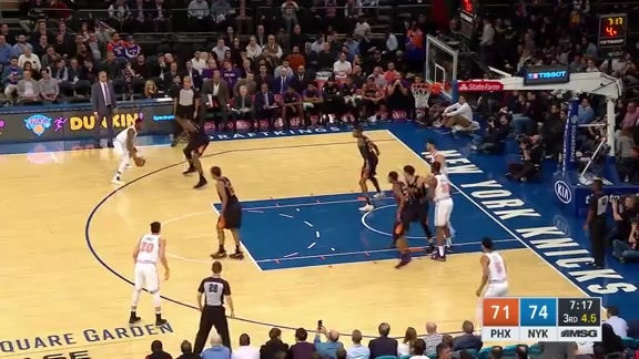Knicks Highlights: Emmanuel Mudiay scores 32 points vs. Suns