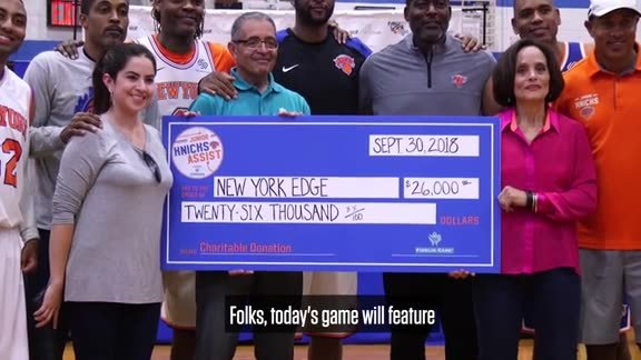 Junior Knicks Assist presented by Fidelis Care