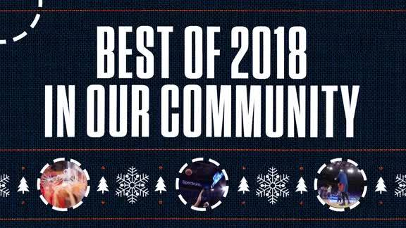 Knicks Best of 2018: In the Community
