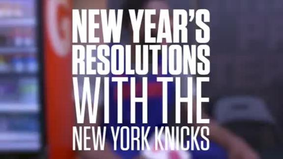 New Year's Resolutions with the New York Knicks