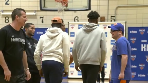 Junior Knicks Coaching Clinic presented by HSS