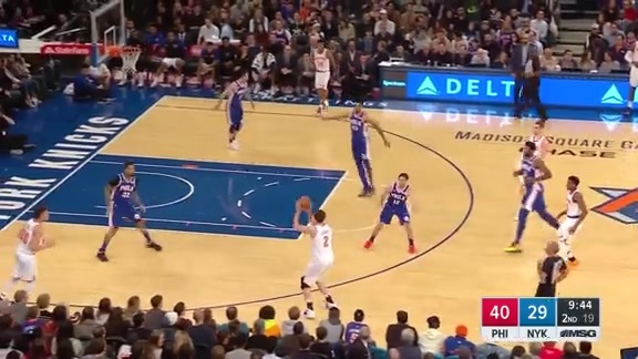 Knicks Highlights: Kornet sinks it from downtown