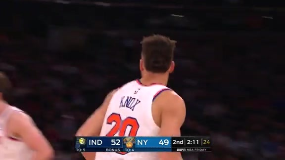 Knicks Highlights: Kevin Knox scores 14 points vs. Pacers