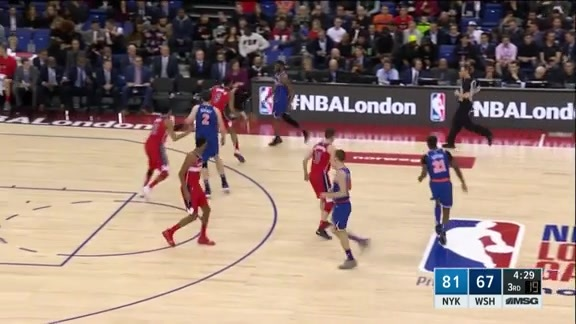 Knicks Highlights: Mudiay rises up and throws it down