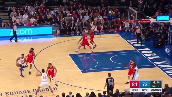 Knicks Highlights: Ntilikina finds Trier cutting to the rim