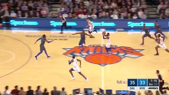 Knicks Highlights: Knox finishes the and-one in transition | New